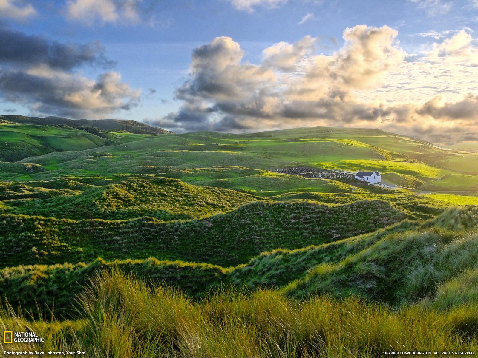"""This photo is from the website of National Geographic and is called, """"Inishowen"""" (Dave Johnston)."""