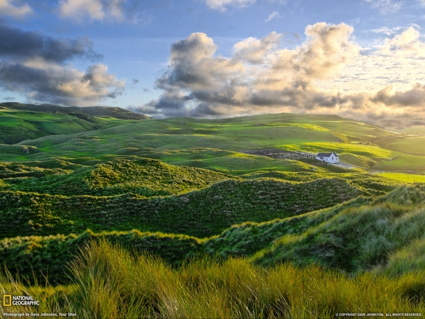 "This photo is from the website of National Geographic and is called, ""Inishowen"" (Dave Johnston)."