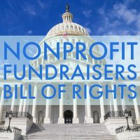 Nonprofit Fundraisers' Bill of Rights