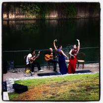 Flamenco | Outside San Antonio River Authority