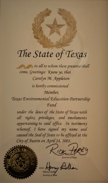 State of Texas CMA