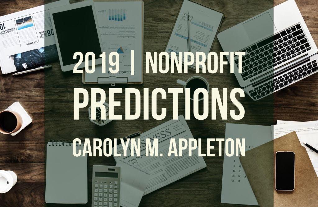 Nonprofit Predictions for 2019.