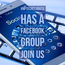 #NPTechClubATX on Facebook