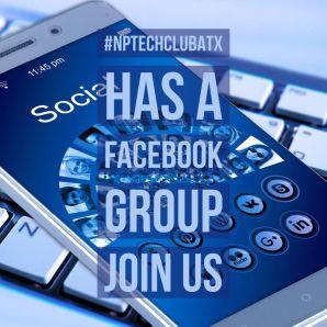 #NPTechClubATX on Facebook