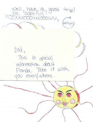 CMA Letter to Dad P.2 With Envelope