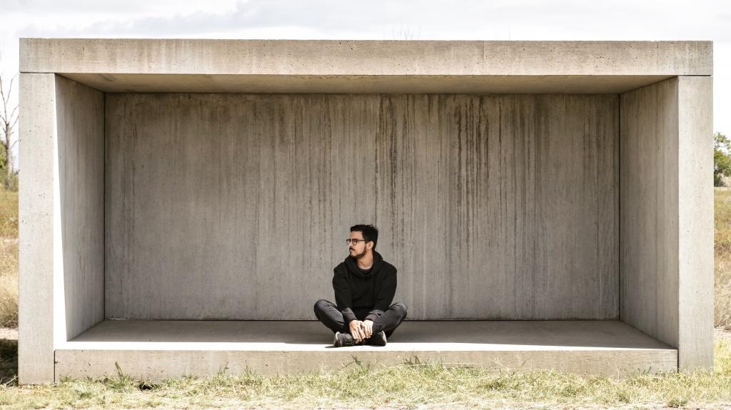 Donald Judd Concrete Sculpture, Marfa