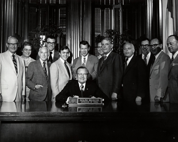 Governor Dolph Briscoe, Jr.